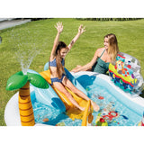 Intex Kid Friendly Outside Inflatable Water Fishing Fun Play Toy Center, 48 Gal