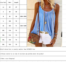 Load image into Gallery viewer, Printed Tank Tops Women's Summer Sleeveless Tank Cotton Vest