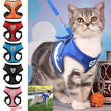 5 Colors HOT SALE Pets Puppy Dog Soft Mesh Walking Chest Collar Strap Durable Outdoor Vest