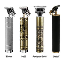 Load image into Gallery viewer, 2020 New 120 Minutes Durable Fast Charge Li T-Outliner Skeleton Heavy Hitter Cordless Trimmer Men 0mm Baldheaded Hair Clipper Finish Hair Cutting Machine