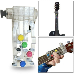 Plastic Classical Chord Buddy Chord Guitar Learning System Teaching Aid Exercise