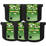 1\/2\/3\/5\/7\/10 Gallon Vegetable Plants Pot Growing Container Flower Planting Black Aeration Bag