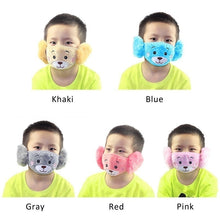 Load image into Gallery viewer, Kids Cotton Anti-smog Anti-Dust Smoke Gas and Allergies Reusable Washable Masks Cute Solid & Printed Masks