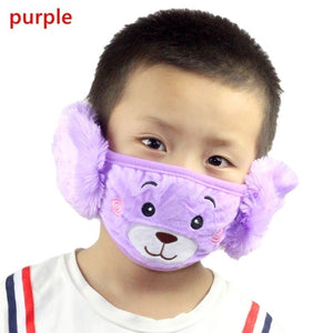 Kids Cotton Anti-smog Anti-Dust Smoke Gas and Allergies Reusable Washable Masks Cute Solid & Printed Masks