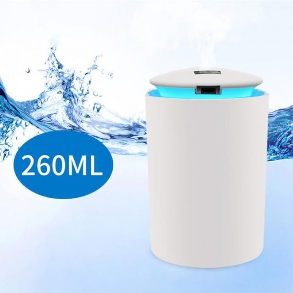 260 MLEssential Air Aroma Oil Diffuser USB Humidifier With LED Night Lamp Electric Aromatherapy