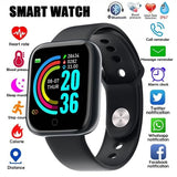 2020 Smart Watch Men Women Blood Pressure Smartwatch Watch Waterproof Heart Rate Tracker Sport Clock Watch Smart for Android IOS