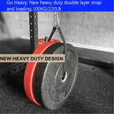 Cable Pulley Fitness Home Arm Workout Multi Gym Equipment Hanging Strap Mount