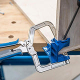 Corner Clamp Jigs Fixed Tool Woodworking T Joints Multifunctional Miter KHCCC 90 Degrees for Kreg Jigs