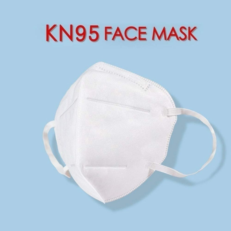 5-Layer Respirator Masks Disposable KN95 Mouth Masks Face Mask Mouthguard For Protection Against Bacteria Anti-Pollution Dust Mouth Masks