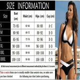 New Summer Women Sexy Bikini Set Push Up Swimsuits Swimwear Cross Bandage Bathing Suits