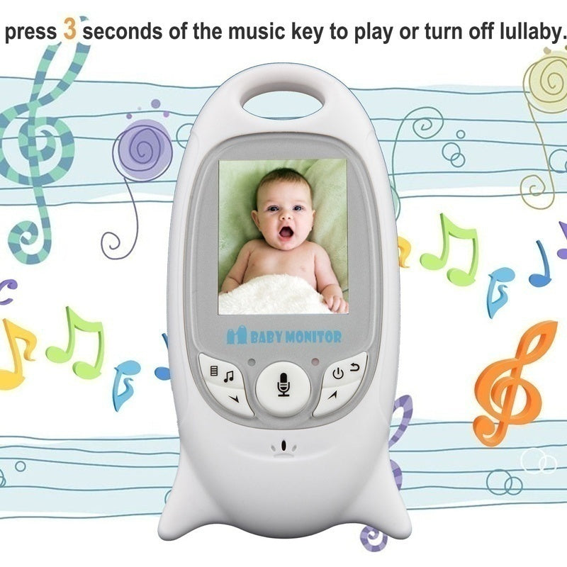 High Quality 2.4 GHz LCD Wireless Digital Audio Video Security Baby Monitor 2 Way Talk Night Vision Alarm Sensor