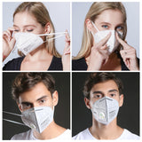 N95 / KN95 Face Mask/ with Breathing Valve-Dust Mask Anti Pollution Breathable Masks,  KN95 Safety Masks /Sanitary Masks/Protective Masks/Mouth Mask