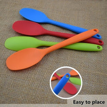 Load image into Gallery viewer, All-inclusive Handle Silicone Spoon Non-stick Soup Spatula Kitchen Utensils