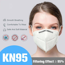 Load image into Gallery viewer, 50PCS Anti-dust KN95 Masks Nonwoven Fabric 4 Layers Filtration Disposable Face Masks
