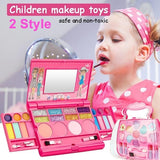 2020 Newest Healthy Princess Makeup Set Toy Cosmetic Girls Kit Safety Tested NON TOXIC for Kids Eyeshadow Lip Gloss Blushes