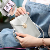 2020 New Fashion Women 2 IN1 Vintage Touchscreen Purse Mini Crossbody Shoulder Bag Phone Bag With Touch Screen Coin Bag