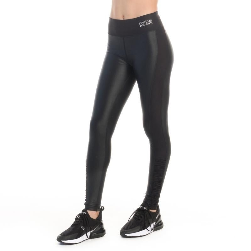Bebe Womens Rouched Shine Leggings