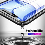 3-IN-1 Full Cover Hydrogel Film for IPhone 11 Pro Max Screen Protector Film for IPhone XR XS MAX X 6 6s 7 8 Plus Back Front Hydrogel Film Camera Tempered Glass
