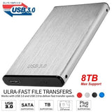 USB 3.0 SATA 2.5  Inch Hard Drive External Enclosure HDD Mobile Disk Box Case