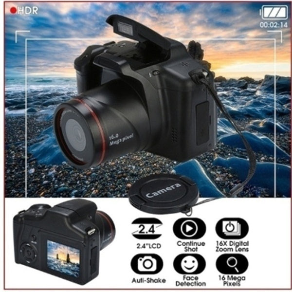 2020 Newly Upgrade Professional Video Camcorder HD 1080P Handheld Digital Camera 16X Digital Zoom Support SD Card O