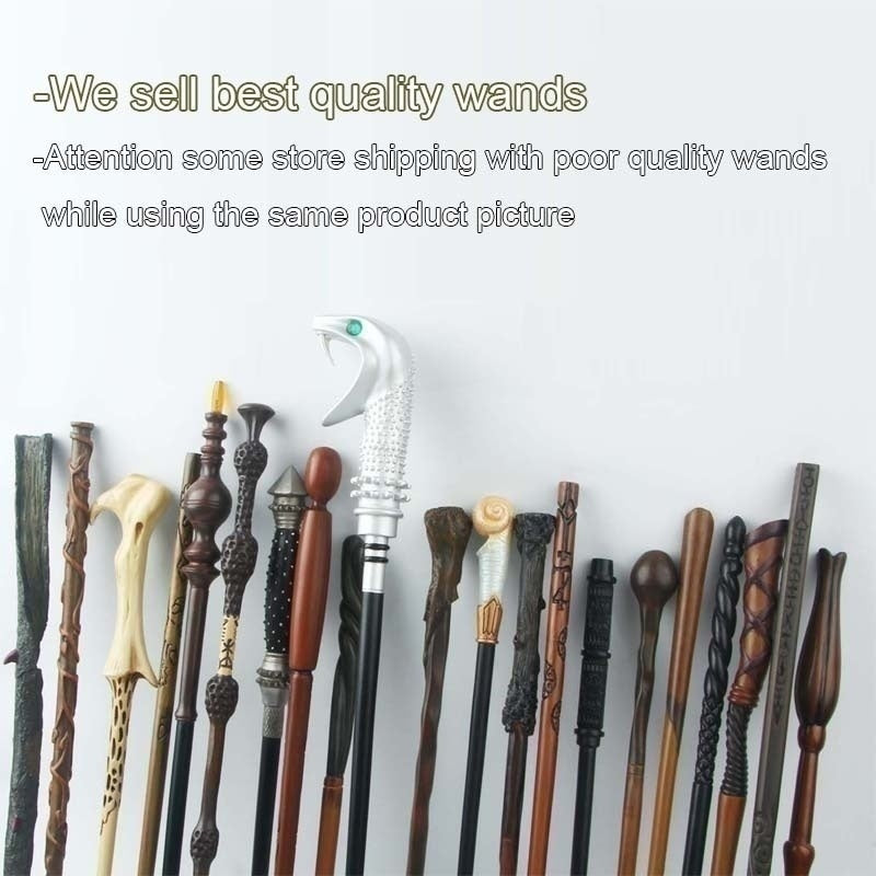 New 79 Styles Magic Wands Lord Wand Magical Stick Halloween Cosplay Toy Gifts(without Box)