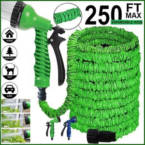 25FT-200FT New Magic Flexible Garden Hose Expandable Watering Hose With Plastic Hoses Telescopic Pipe With Spray Gun To Watering