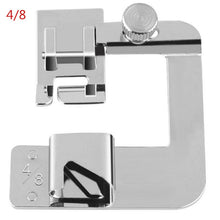 Load image into Gallery viewer, 1 Piece of Household Multifunctional Sewing Machine Presser Foot Technology Stainless Steel Crimping Tool Practical Roll Foot Sewing Machine Accessories