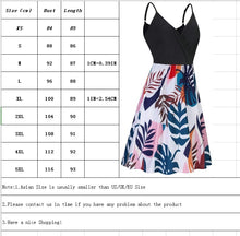 Load image into Gallery viewer, Women's Printed Camisole Dress Summer Sleeveless Beach Dress Casual Dress