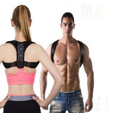 Adult children, adjustable size upper back shoulder support posture corrector corset spine support strap brace corrector back support, 90 days to correct hunchback