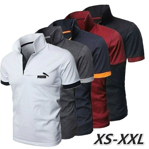 Summer Mens T-shirts Fashion Short-sleeved Tee Casual Tshirts