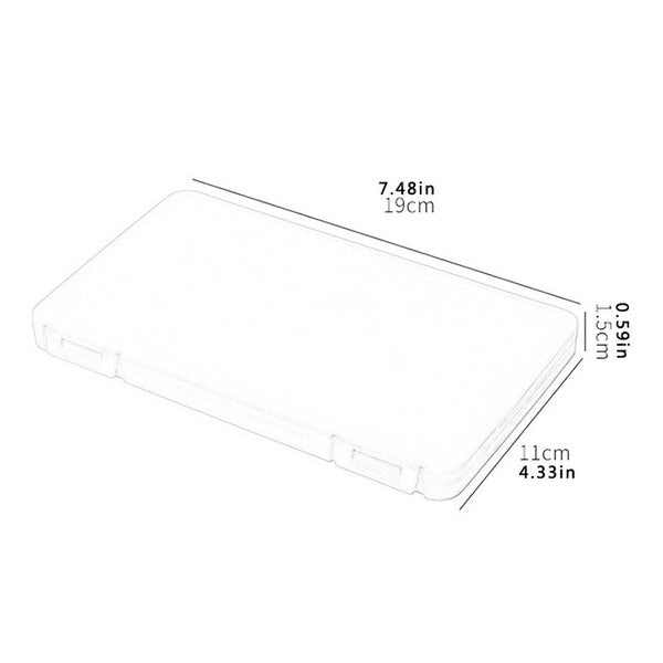 Lightweight Portable Storage Box Dustproof and Moisture-proof Cleaning Flip Cover Box YLL