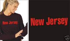 Sopranos New Jersey LONG SLEEVE T-SHIRT