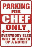 Emeril CHEF Parking Sign