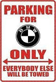 BMW Parking Sign MAGNET