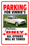 Parking Sign Falcon 002