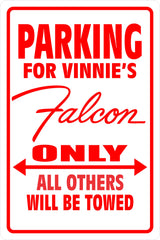 Parking Sign Falcon 001