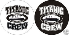 TITANIC CREW Pin/Button