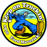 Maverick Sticker Keep On Truckin' (All Years)