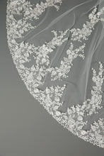 Load image into Gallery viewer, Bridal Apparel Vine Lace Train Veil || CGC558B