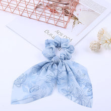 Load image into Gallery viewer, Pearl pendant large intestine ring hair band women's hair knot knotted big bow hair rope