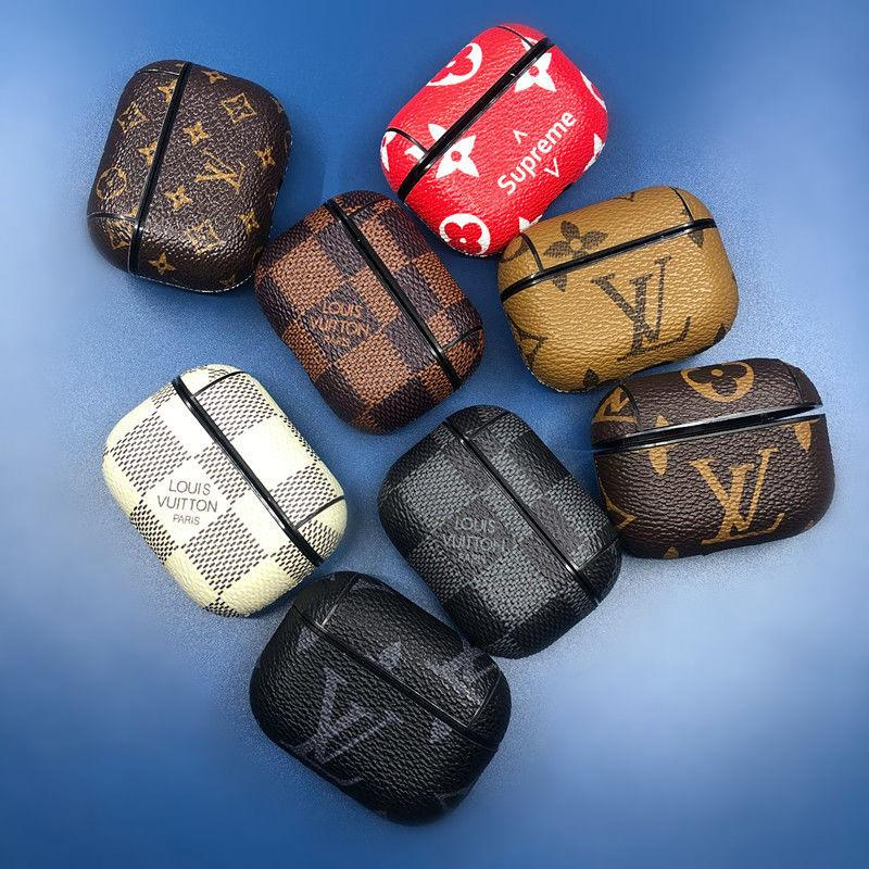 Louis Vuitton Leather Airpods PRO Case