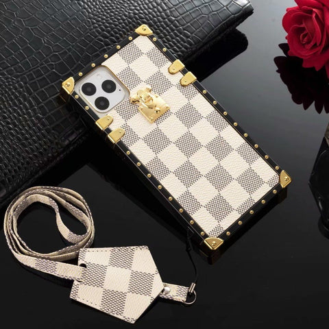 White Gucci iphone case