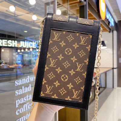 HypedEffect Louis Vuitton Leather Phone Bag (Phone Pouch)