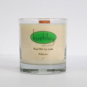 h) 11oz Soy Candle, Wood Wick - Back in stock!