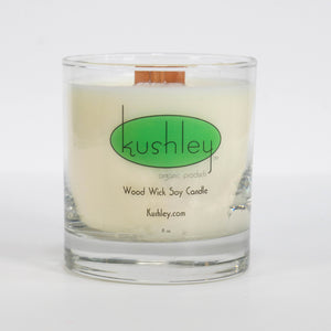 i) 8oz Soy Candle, Wood Wick - Back in Stock!