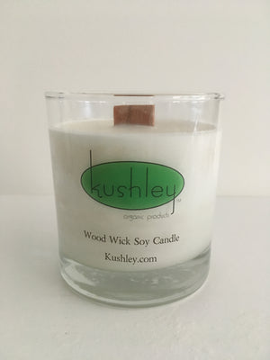 i) Soy, Woodwick Candle ~ 8oz ~ 20/25 hour