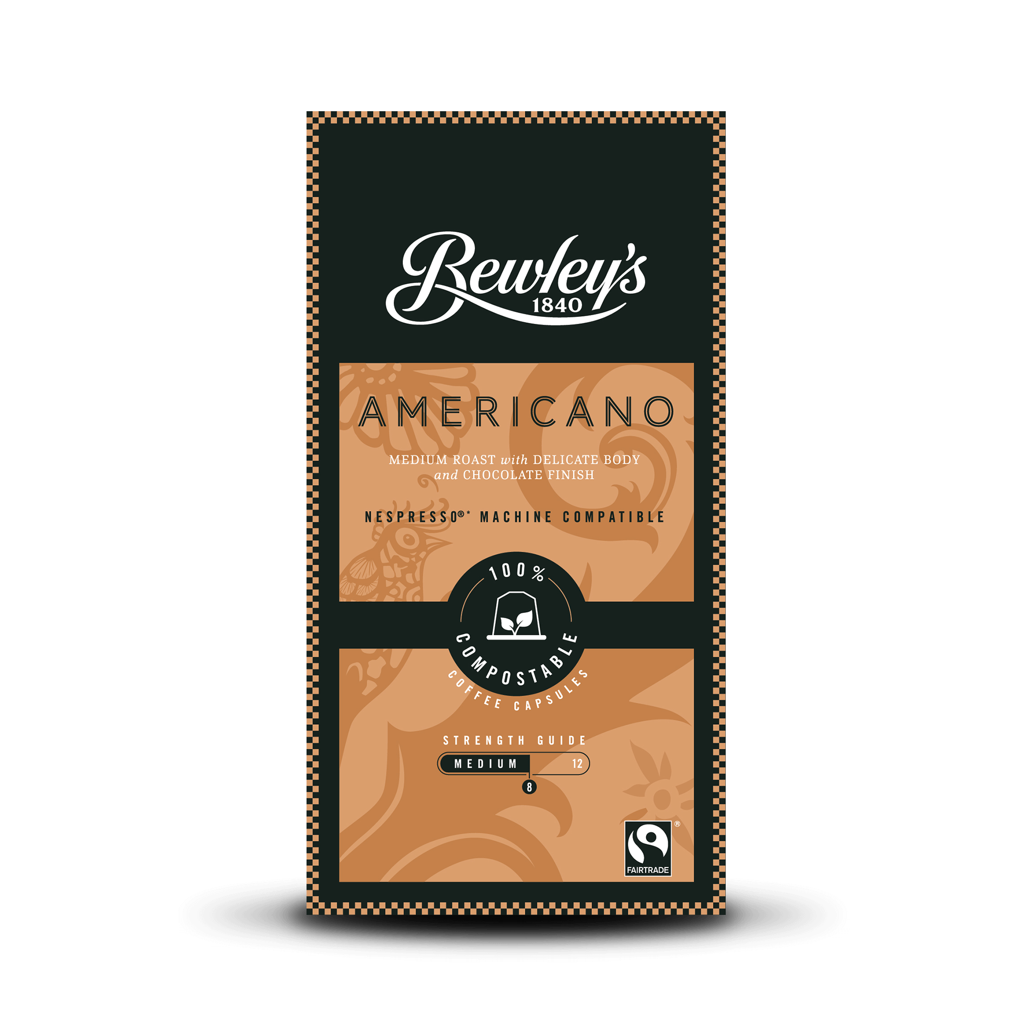 Bewley's Americano Coffee Capsules - Bewley's Tea & Coffee