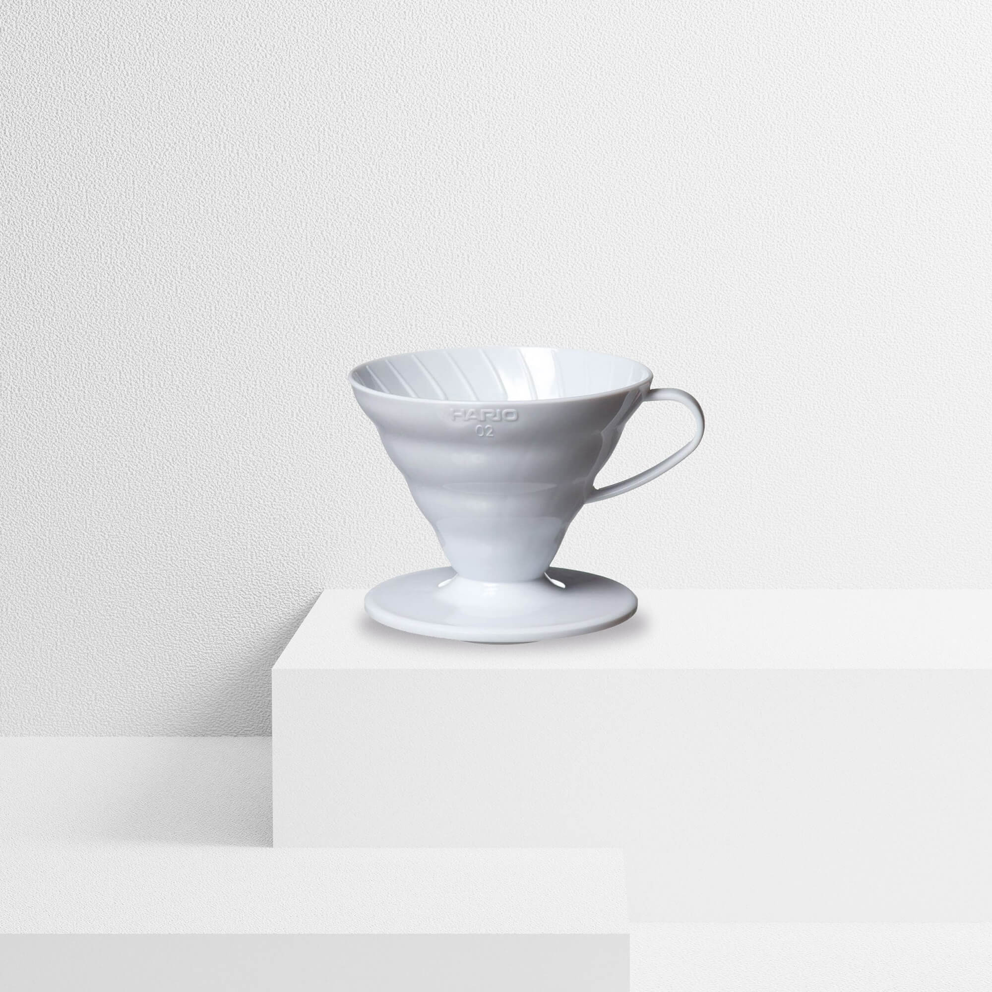 V60 Ceramic White Dripper - Bewley's Tea & Coffee