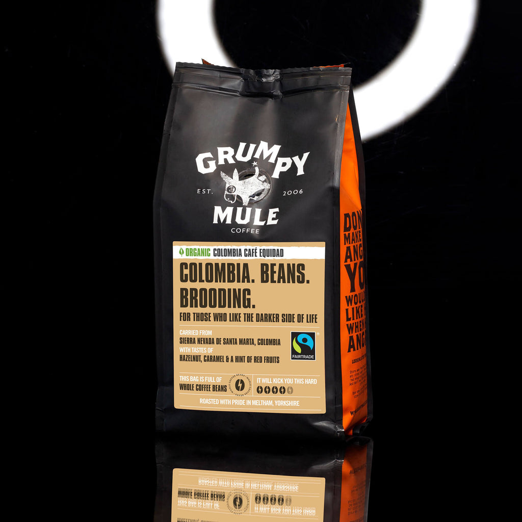 Organic Colombia Equidad Coffee Beans