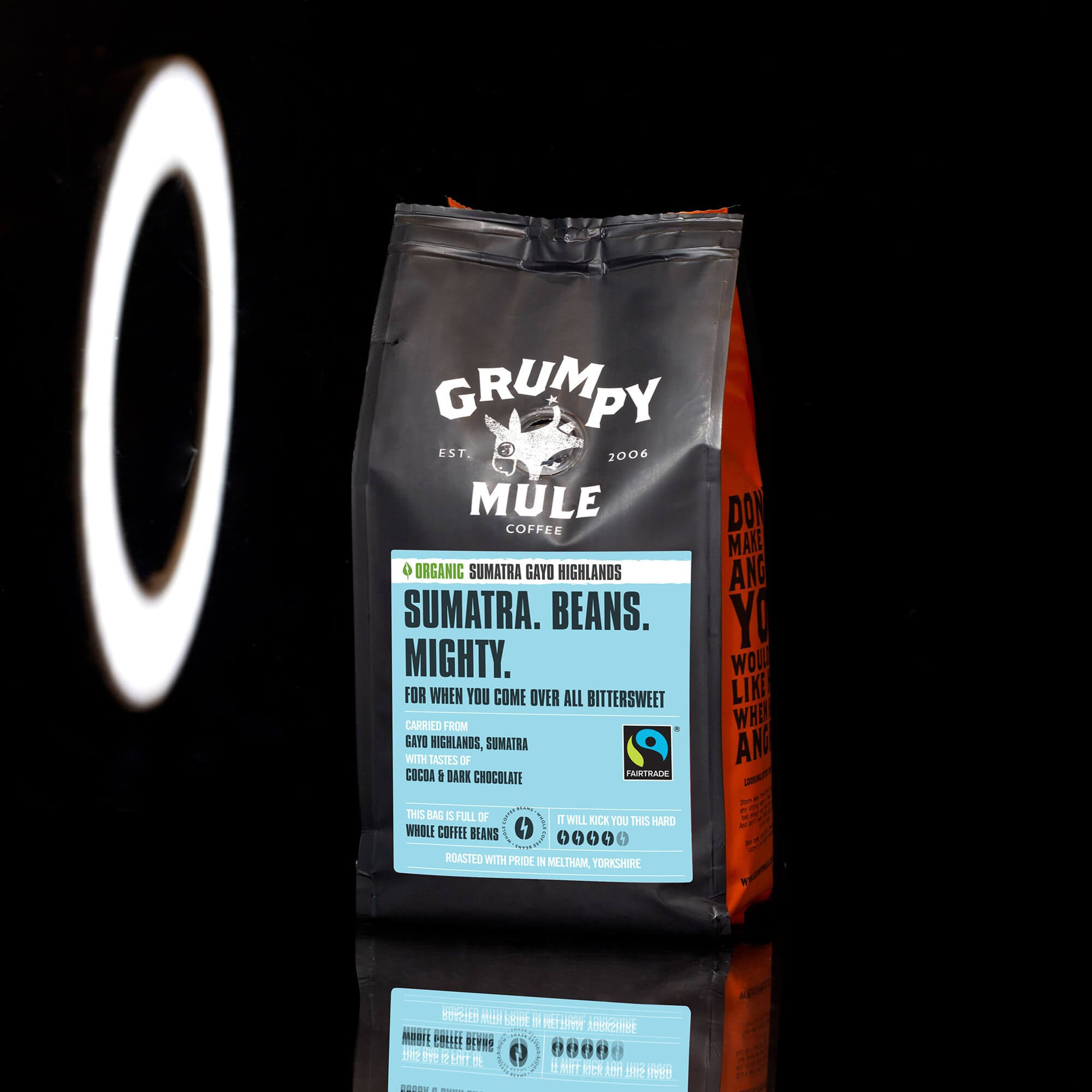 Grumpy Mule Organic Sumatra Ground Gayo Highlands Coffee Beans - Grumpy Mule